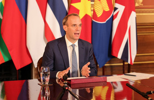UK becomes Dialogue Partner of the Association of Southeast Asian Nations